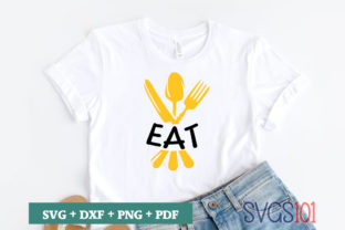 Eat SVG Graphic Illustrations By svgs101