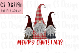 Print on Demand: Gnomes Christmas  Sublimation Graphic Graphic Crafts By CSDesign