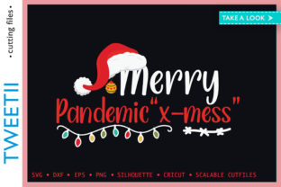 Print on Demand: Merry Pandemic X-mess Christmas 2020 Graphic Crafts By Tweetii