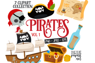 Print on Demand: Pirates VOL. 1 Graphic Illustrations By DigitalPapers