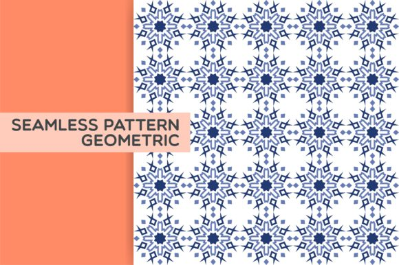 Seamless Pattern Geometric Graphic Patterns By Acongraphic