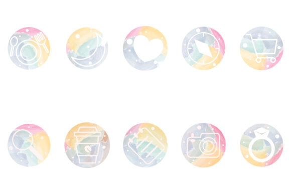 Print on Demand: Social Media Icon Pack 3 Graphic Icons By meandmydate