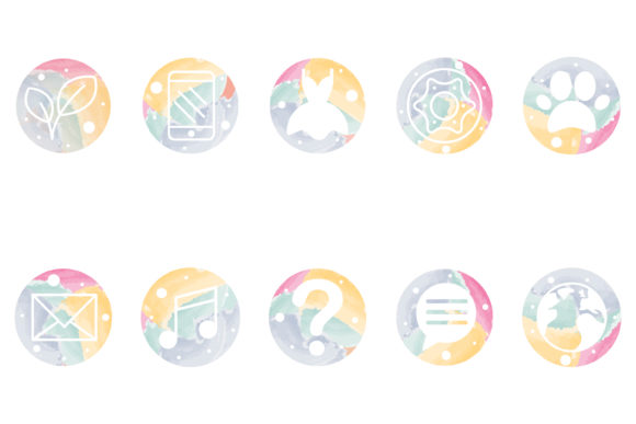 Print on Demand: Social Media Icon Pack 4 Graphic Icons By meandmydate