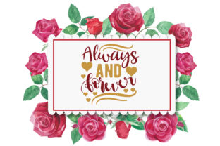 Print on Demand: Always and Forever Graphic Crafts By Printable Store