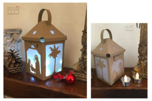 Christmas Lantern Graphic 3D Christmas By patrizia.moscone