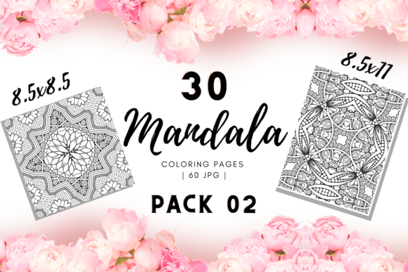 Print on Demand: Mandala Coloring Pages Pack 03 | KDP Graphic Coloring Pages & Books Adults By Fayne