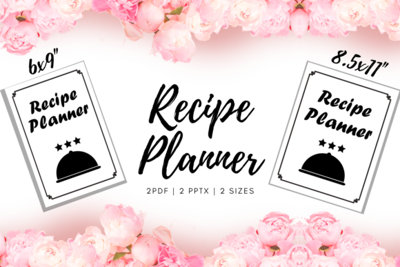 Print on Demand: Recipe Planner   Reviews KDP Interior Graphic KDP Interiors By Fayne