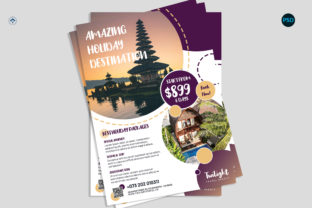 Travel Promotion Flyer V2 Graphic Print Templates By risegraph