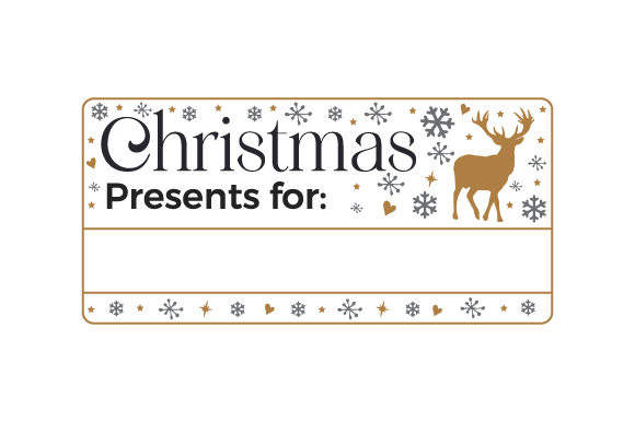 Christmas Presents for ____________ Christmas Craft Cut File By Creative Fabrica Crafts