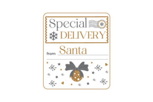 Special Delivery from Santa Christmas Craft Cut File By Creative Fabrica Crafts