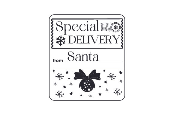 Special Delivery from Santa Cut File Download