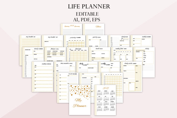 2021 Planner, Family Planner Graphic Graphic Templates By Igraphic Studio