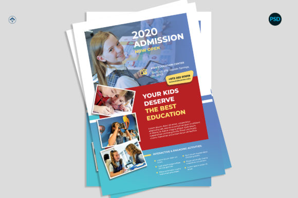 Education Promotion Flyer V1 Graphic Print Templates By risegraph