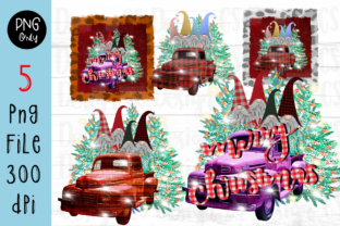 Print on Demand: Sublimation Gnomes Family Christmas Graphic Crafts By CSDesign