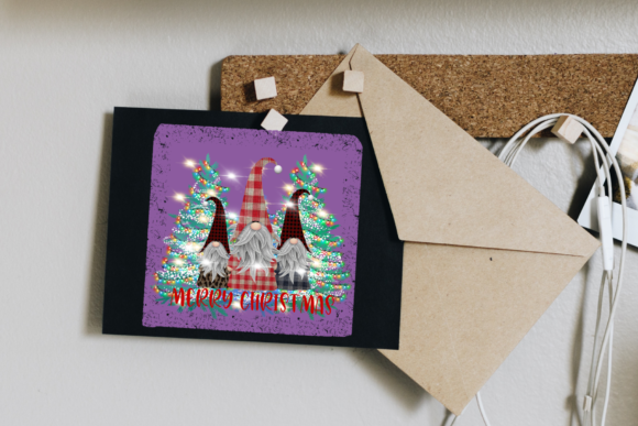 Sublimation Gnomes Family Christmas Graphic Design