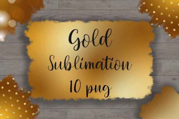 Sublimation Gold Background Graphic Backgrounds By PinkPearly