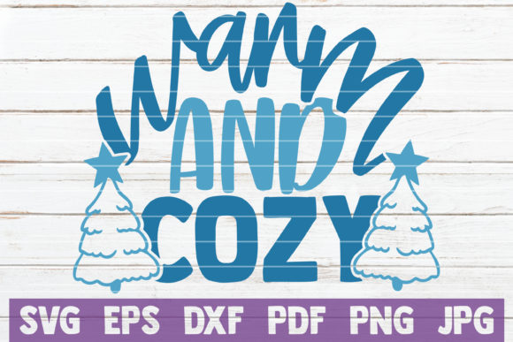 Warm and Cozy Graphic Crafts By MintyMarshmallows
