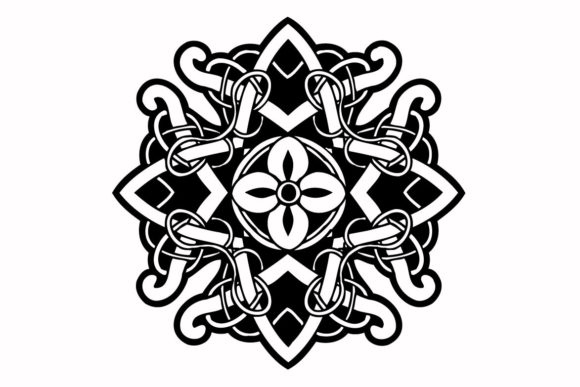 Print on Demand: Vintage Celtic Ornament Graphic Illustrations By nisakaart