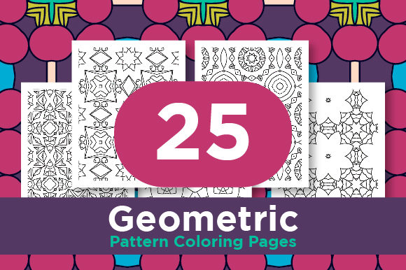 Print on Demand: Adult Seamless Patten Design Graphic Coloring Pages & Books Adults By Riduwan Molla