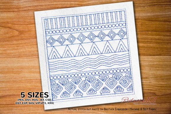 African Design Pattern Lineart Africa Embroidery Design By Redwork101