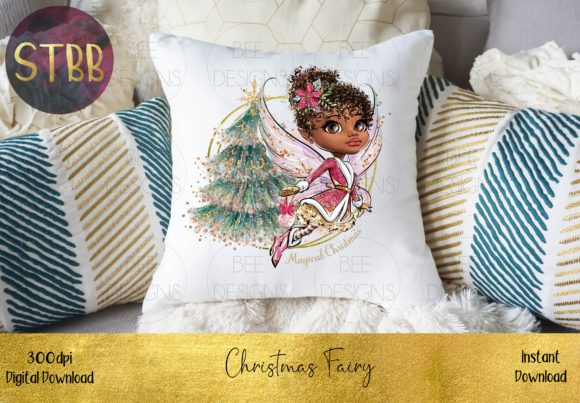 Beautiful Christmas Fairy Graphic Download