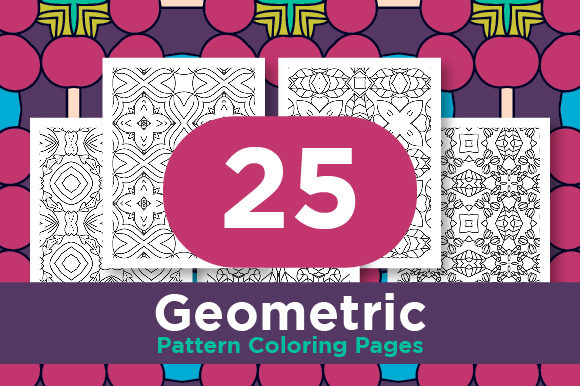 Print on Demand: Black Sharp Line Pattern Design Graphic Coloring Pages & Books Adults By Riduwan Molla