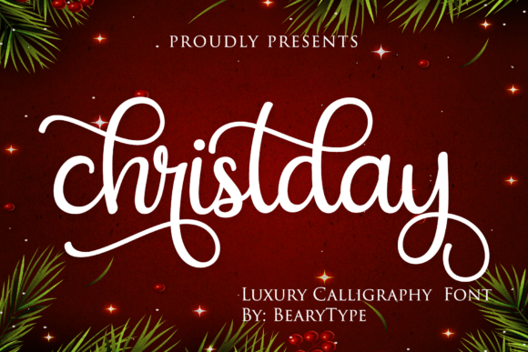 Print on Demand: Christday Script & Handwritten Font By LetterBeary