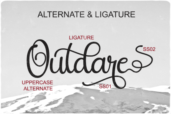 Christday Font Preview