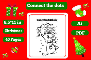 Print on Demand: Christmas Connect the Dots -kdp Interior Graphic KDP Interiors By KDP_Interior_101
