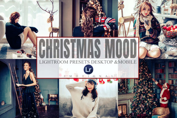 Print on Demand: Christmas Mood Mobile Desktop Lightroom Graphic Actions & Presets By 3Motional
