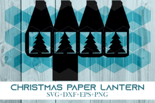 Print on Demand: Christmas Paper Lantern Series 0001 Graphic 3D SVG By Cerescrafts