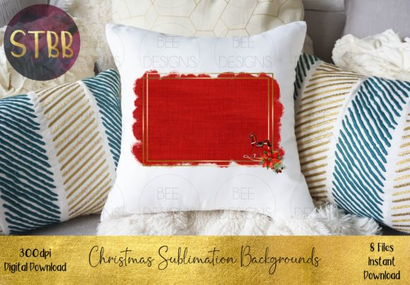 Christmas Sublimation Backgrounds Graphic Download