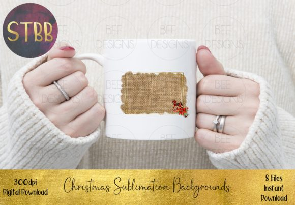 Christmas Sublimation Backgrounds Graphic Item