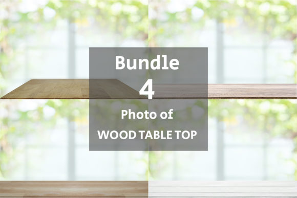 Empty Wooden Table Top Graphic Backgrounds By Avadesing