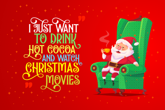 Holidays Christmas Font Preview