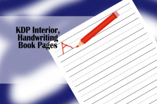Print on Demand: KDP Interior, Handwriting Book Pages Graphic KDP Interiors By Designs_by_Shorty