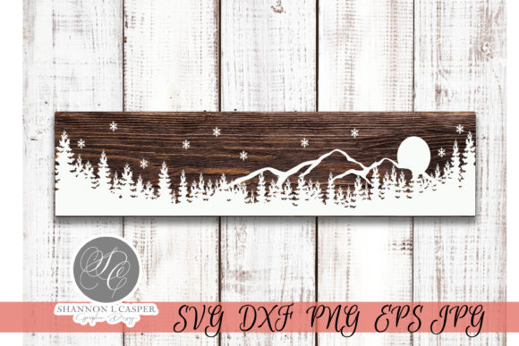 Print on Demand: Merry Christmas Long Verticle Sign SVG Graphic Illustrations By Shannon Casper