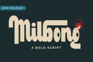 Print on Demand: Milbong Display Font By Fallengraphic