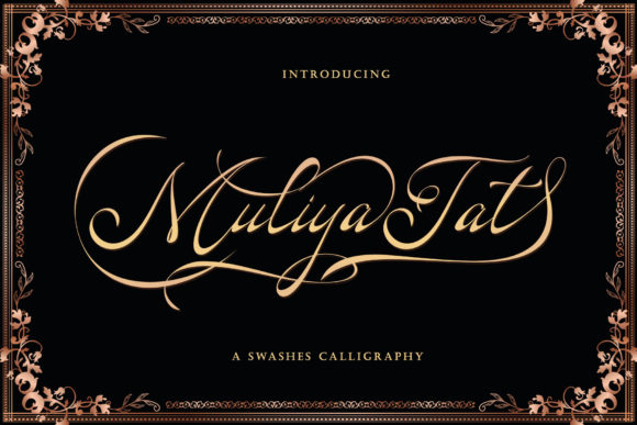 Print on Demand: Muliya Tat Script & Handwritten Font By Sulthan Studio