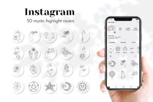 Mystic Instagram Story Highlight Covers Graphic Web Templates By neauth