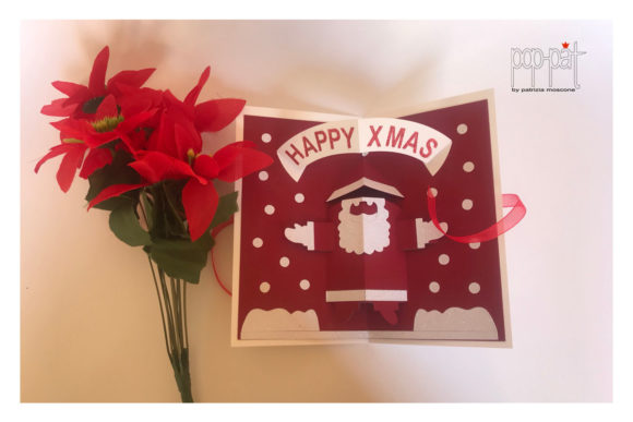Santaclaus Pop Up Graphic 3D Christmas By patrizia.moscone