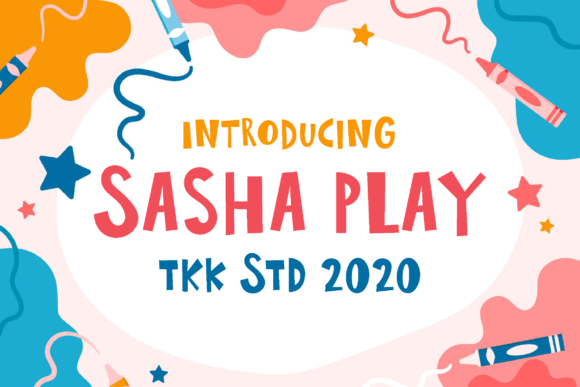 Print on Demand: Sasha Play Display Font By tokokoo.studio