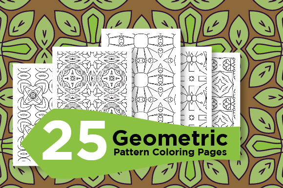 Print on Demand: Seamless Pattern Design Vector Graphic Coloring Pages & Books Adults By Riduwan Molla