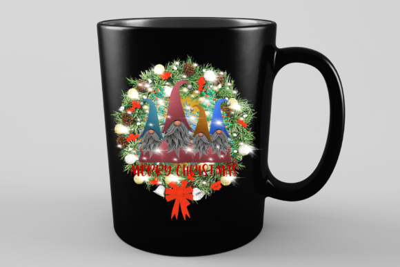 Sublimation Gnomes Family Christmas Graphic Preview