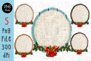 Print on Demand: Sublimation Sack Frame Christmas Graphic Crafts By CSDesign