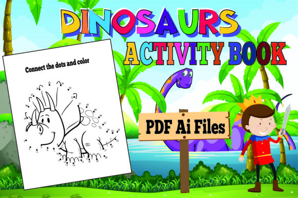The Most Complete Dinosaur Activity Book Graphic Item