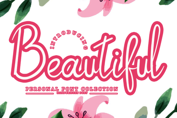 Print on Demand: Beautiful Script & Handwritten Font By giatstudios