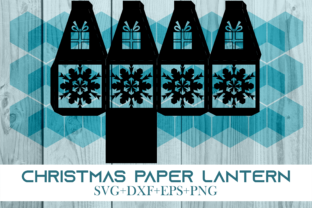 Print on Demand: Christmas Paper Lantern Series 0031 Graphic 3D SVG By Cerescrafts