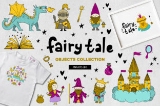Print on Demand: Fairy Tale/objects Collection Graphic Illustrations By alonasavchuk84