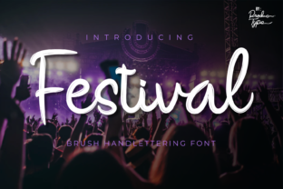 Print on Demand: Festival Script & Handwritten Font By Productype